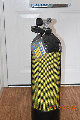 Faber 12Ltr Dive cylinder with MDE valve containing 33% Nitrox