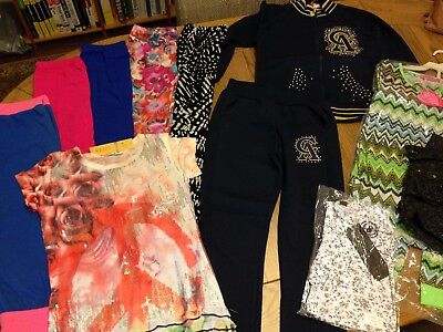 Girls Clothing Bundle Age 7-8 Years Total 12 Brand New Items CHECK OUT PICTURES