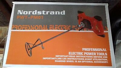 Nordstrand PWT-PM01 1600 W 140 mm Single Paddle Mixer for Plaster Paint Cement