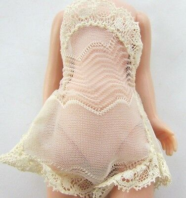 """Betsy McCall Doll 1957 Chemise Lace White Rare 8"""" American Character Original"""