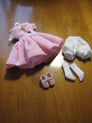 """Tagged Tonner 8"""" Tiny Betsy Pink & Pretty Outfit LE500 with Shoes Socks Bloomers"""