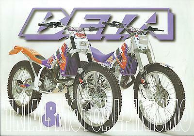 BETA TRIAL  . ALP. TECHNO . REV 3 . lot de 3 prospectus .brochure .prospekt
