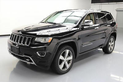 2014 Jeep Grand Cherokee Overland Sport Utility 4-Door 2014 JEEP GRAND CHEROKEE OVERLAND 4X4 PANO NAV DVD 24K #572688 Texas Direct Auto