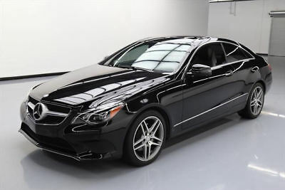 2015 Mercedes-Benz E-Class 4Matic Coupe 2-Door 2015 MERCEDES-BENZ E400 COUPE AWD P1 PANO ROOF NAV 29K #298031 Texas Direct Auto