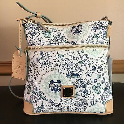 Disney Vacation Club DVC Dooney and Bourke Letter Carrier Bag Brand New