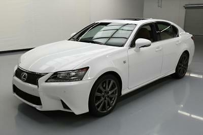 2015 Lexus GS F Sport Sedan 4-Door 2015 LEXUS GS350 F-SPORT SUNROOF NAV CLIMATE SEATS 28K #002324 Texas Direct Auto