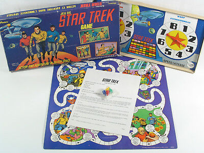 Vintage STAR TREK Hasbro 1976 Adventure in Outer Space BOARD GAME ! COMPLETE !
