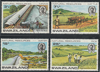 Swaziland 1973 Natural Resources SG 200-203 (Used)