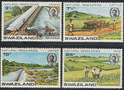 Swaziland 1973 Natural Resources SG 200-203 (MLH)
