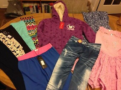 Girls Clothing Bundle Age 9-10 Years Total 9 Brand New Items CHECK OUT PICTURES