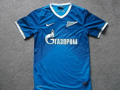 Zenith St Peterburg Home Football Shirt Small Size Nike Make
