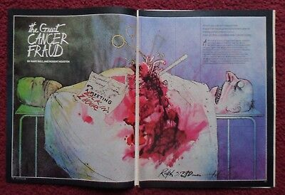 Lot of 11 Different Magazine Story & Article Title Pages with RALPH STEADMAN Art