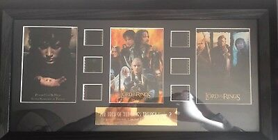Lord Of The Rings Framed Filmcells