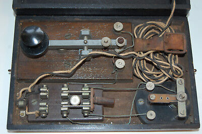 Morse Code Machine Very Old