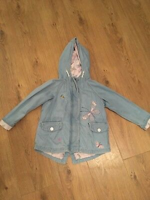 Girls Bunny Coat From Next Age 4-5