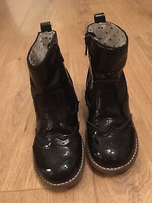 Girls Black Boots From Next Size 9