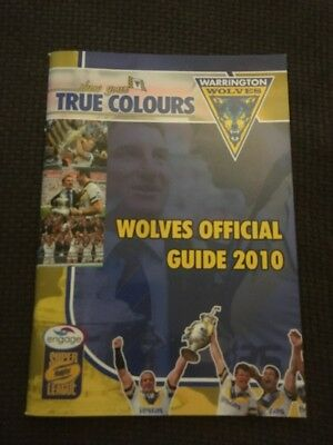 Warrington Wolves Official Guide 2010