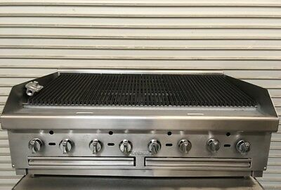 """48"""" Radiant Char Broiler Grill Southbend HDC-48 #7240 Commercial Restaurant Cook"""