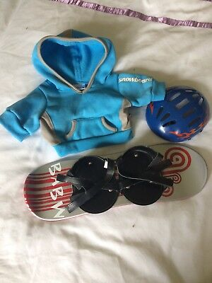 Build A Bear - Snowboarder Outfit