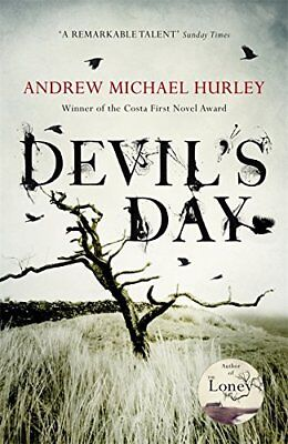 Devil''s Day From the Costa winning a by Andrew Michael Hurley Hardback Book New