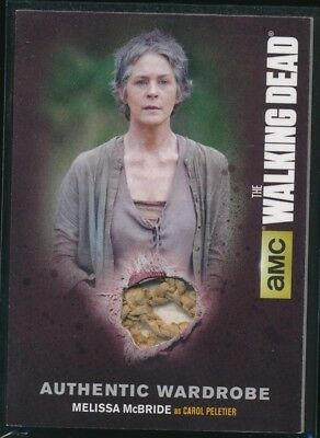 2016 The Walking Dead Season Four Part 1 Memorabilia #M15 Melissa McBride