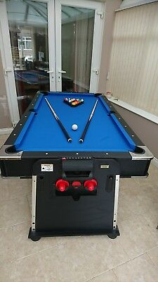 7ft revolver multigames table