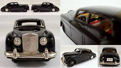 Antique Vtg SSS Shioji RR Rolls Royce Tiny Giant Japan Tin Toy Friction Car