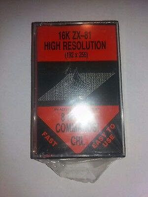 ZX81 software 16k ZX-81 HIGH RESOLUTION SEALED!!!