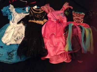 Childrens Dressing Up Clothes / Costumes mixed Kids Age 5-6 & 7-8  Inc Disney