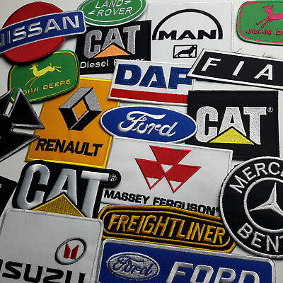 TRUCK COMMERCIAL VEHICLE PATCHES - Any Marque Patch Only £1.40, UK SELLER! NEW!