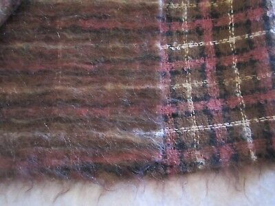 64 X 60 inch Fuzzy Mohair For Bears or a Poncho