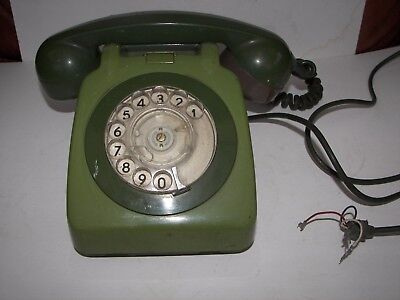 1970's Vintage Rotary Dial BT Telephone