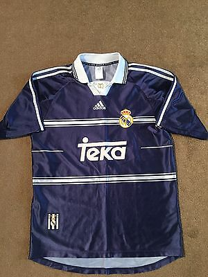 Retro Real Madrid Away Shirt Medium