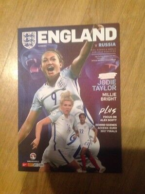 September 2017. England Ladies V Russia