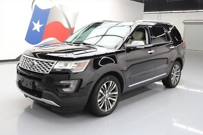 2016 Ford Explorer Platinum Sport Utility 4-Door 2016 FORD EXPLORER PLATINUM AWD ECOBOOST 6-PASS NAV 12K #C71168 Texas Direct