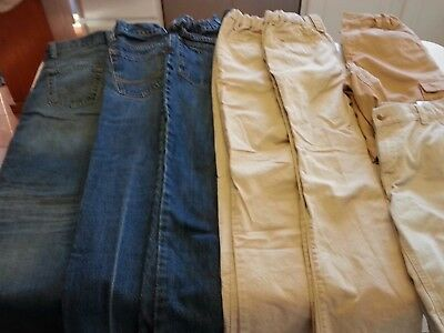 Boys Jeans, Dockers, Shorts Lot Of 7 Size 10