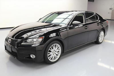 2013 Lexus GS Base Sedan 4-Door 2013 LEXUS GS350 PREMIUM SUNROOF NAV REAR CAM 41K MILES #004905 Texas Direct