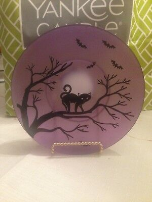 Yankee Candle Midnight Sophia Candle Plate 2017