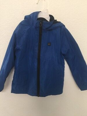 Toddler Boys Size 3T Quicksilver Raincoat