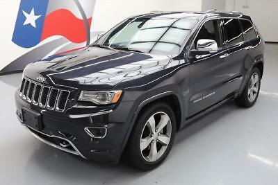 2015 Jeep Grand Cherokee Overland Sport Utility 4-Door 2015 JEEP GRAND CHEROKEE OVERLAND 4X4 PANO NAV DVD 19K #828462 Texas Direct Auto