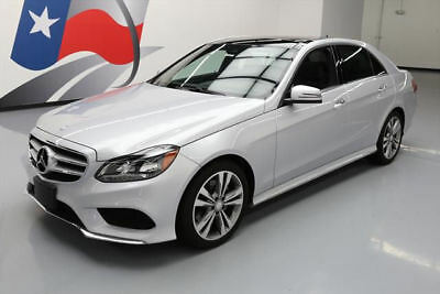 2016 Mercedes-Benz E-Class  2016 MERCEDES-BENZ E350 SPORT PREM PANO SUNROOF NAV 16K #222405 Texas Direct
