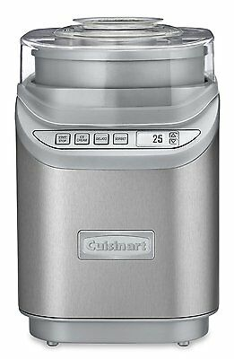 Cuisinart Gelateria Ice Cream Frozen Yogurt Sorbet Maker ICE-70C