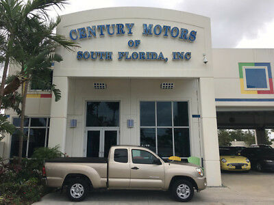2008 Toyota Tacoma Base Extended Cab Pickup 4-Door NIADA CERTIFIED WARRANTY LOADED AUTO NO ACCIDENTS LOW MILES 4 CYL CLEAN