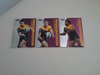 2014 nrl elite pride and passion set broncos