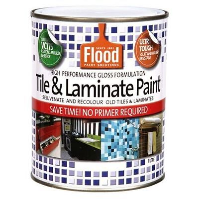 Flood 2 Litre Tile&laminate Paint Deep-Base Colour Paint