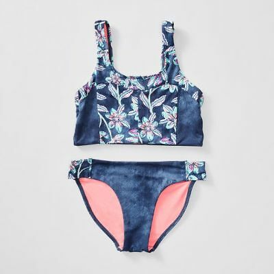 NEW Piping Hot Floral Print Bikini Set Kids