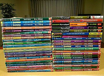 Goosebumps Children's Books/novel 44 books  by R L Stine. P/up narre warren/post