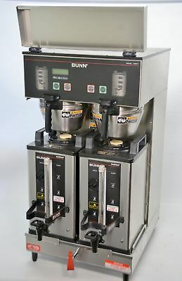 Bunn DUAL SH DBC  Automatic Commercial Coffee Brewer w/SH Servers Hot Water Tap