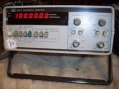 HP / Agilent 5314A Universal Counter 100MHz ---------shelf-------H