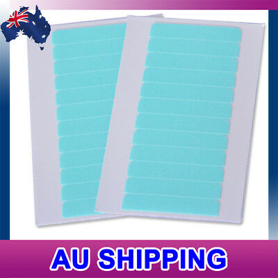 24PCS Strong Blue Double Sided Side Tape for Skin Weft Tape Hair Extensions